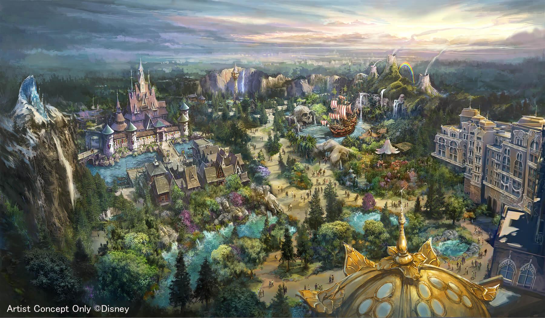 重現出「冰雪奇緣」、「彼得潘」的世界!東京迪士尼海洋®全新主題區域登場 東京迪士尼樂園、東京迪士尼海洋、