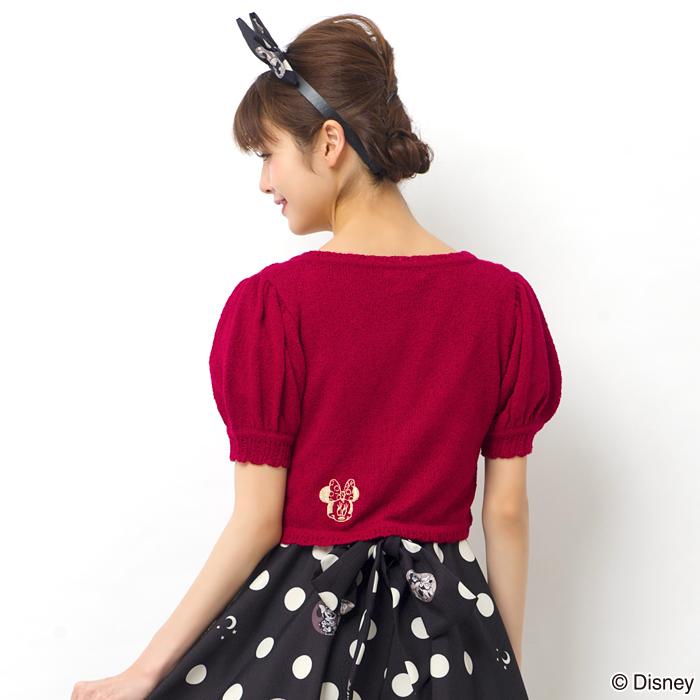 secrethoney迪士尼公主洋裝D23expo2018米妮款加紅色小外套背面