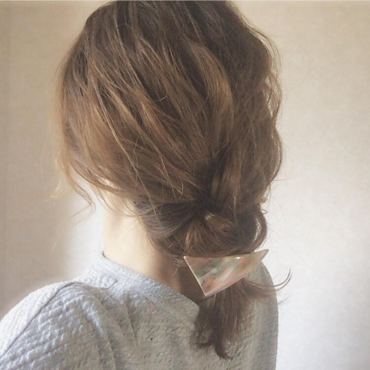 編髮大人風中長髮造型