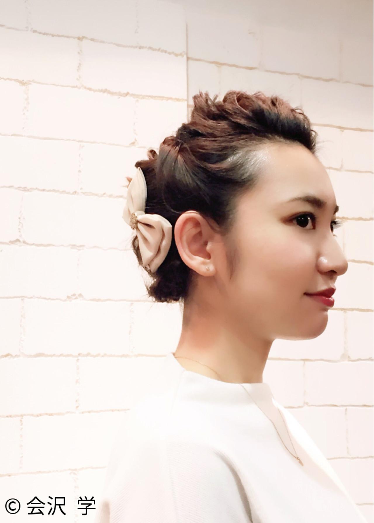參加婚禮宴客可以配戴的蝴蝶結髮飾