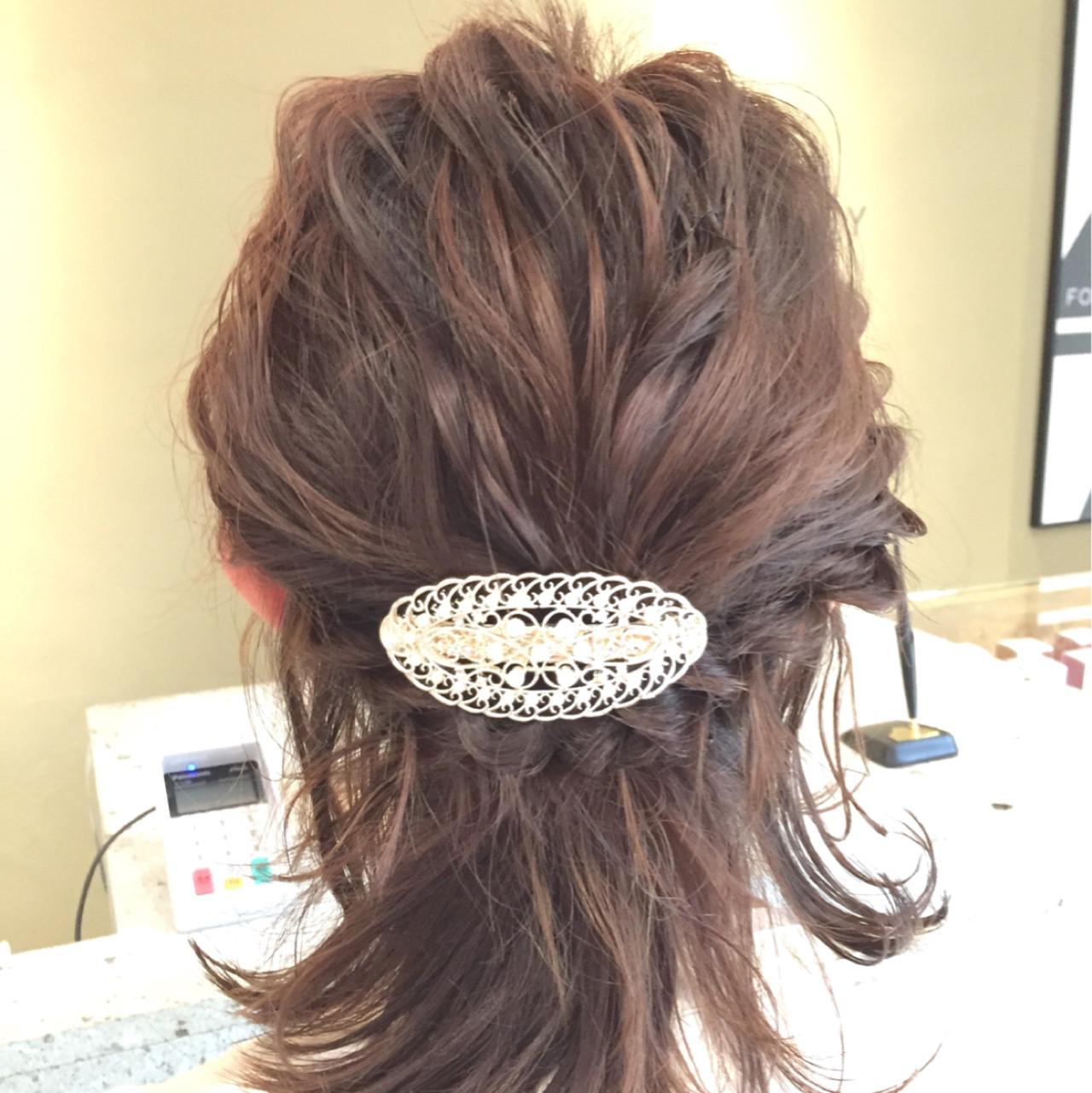 金屬質感髮飾