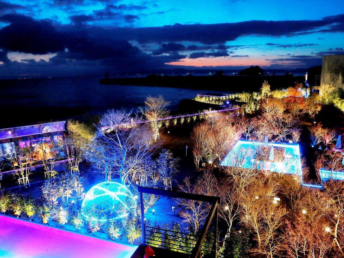 可以眺望整片有明海的無邊際泳池&露天風呂 在長崎「南風樓飯店」登場! 在長崎、日本旅行、日本觀光、飯店、