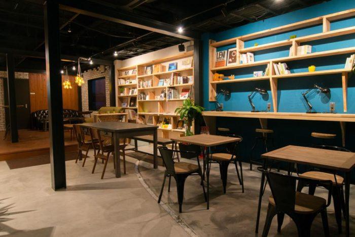 TONAGI Hostel & Cafe 特納奇旅館交誼廳