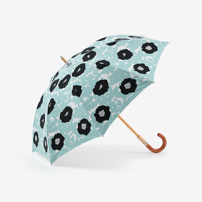 sousou布moonbat傘晴雨二用日傘長傘-藍-外觀