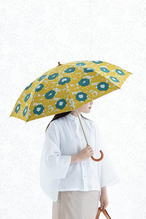 sousou布moonbat傘晴雨二用日傘折傘折疊傘-撐傘示意圖