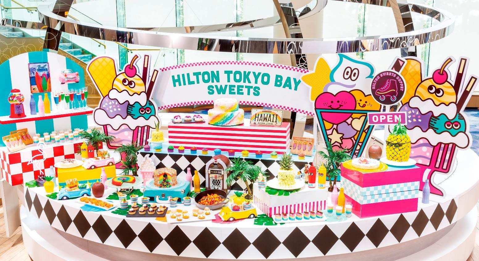 東京灣希爾頓酒店 繽紛甜點齊聚一堂 夏日甜點Buffet舉辦! 甜點、