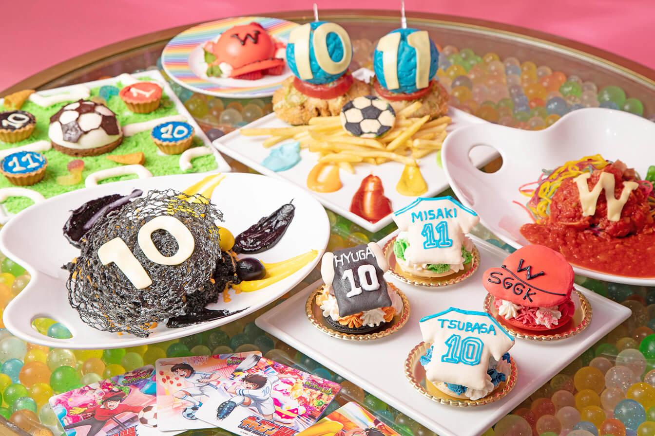 「足球小將翼」×原宿「KAWAII MONSTER CAFE」合作菜單發售! 咖啡廳、在原宿、
