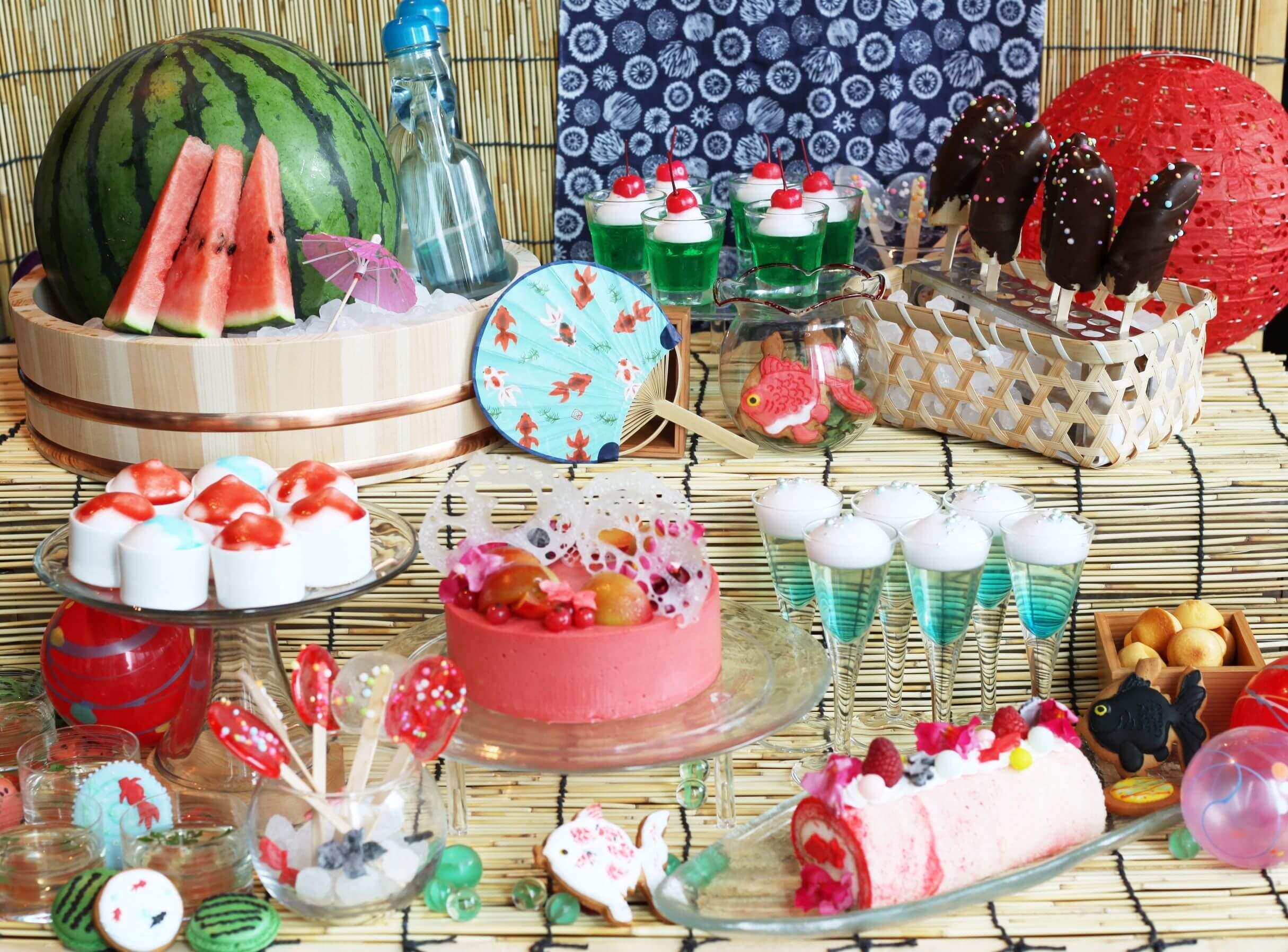 「Summer Sweets Buffet 2018」於餐廳XEX東京・名古屋・大阪舉辦 在名古屋、在大阪、在東京、餐廳、
