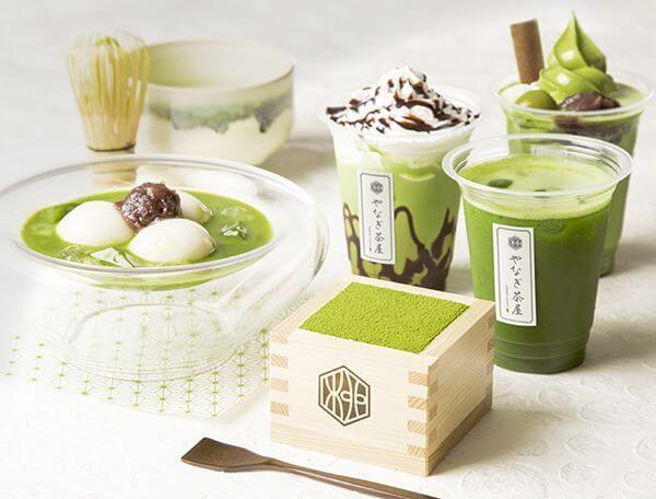 充滿抹茶的日式咖啡廳「やなぎ茶屋」於淺草・新仲見世通開幕 抹茶_、淺草、甜點、