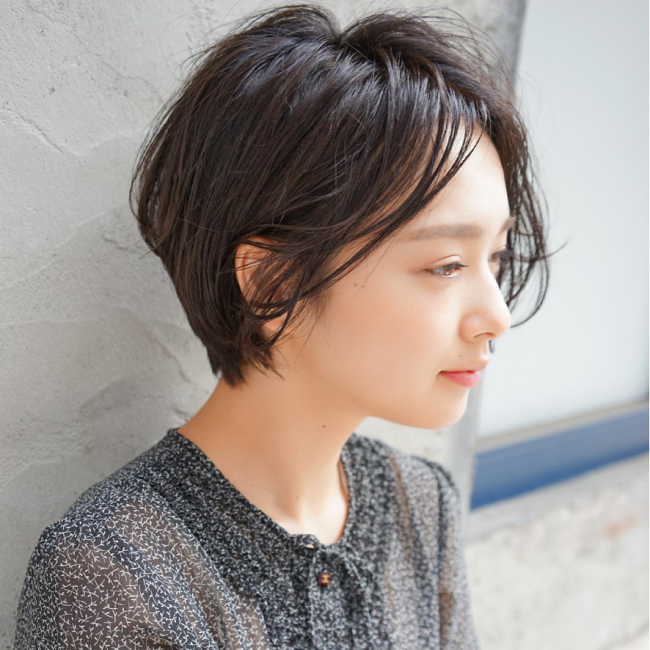 直短髮造型