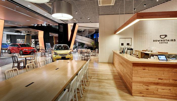 六本木賓士咖啡廳downstairs