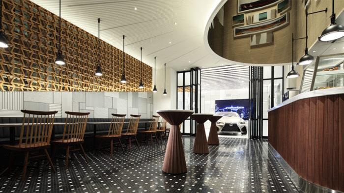 LEXUS咖啡廳