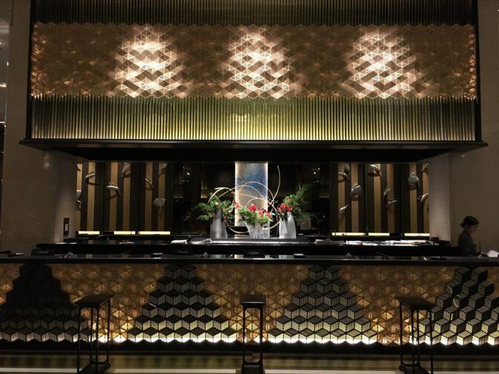 品川新高輪王子飯店大廳