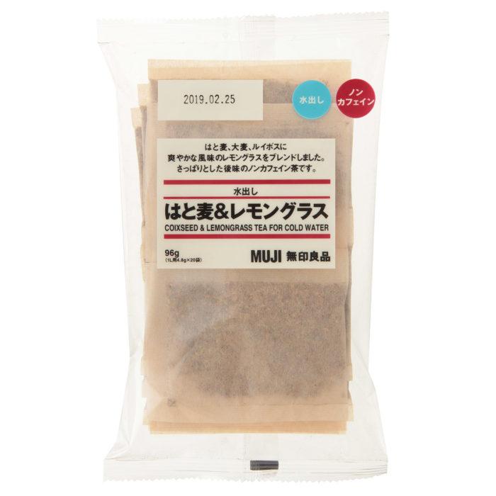 無印良品大袋冷泡袋茶薏仁檸檬香茅麥茶包裝