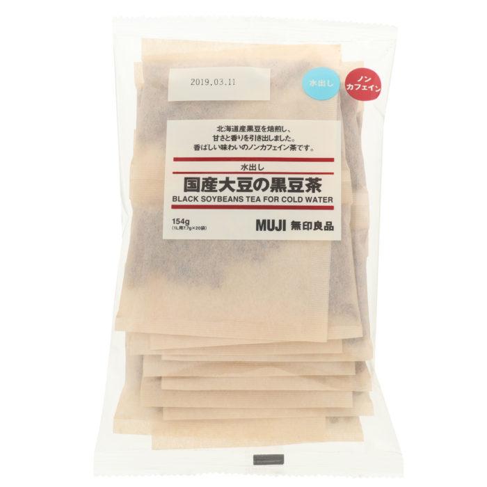 無印良品大袋冷泡袋茶日產黑豆茶包裝