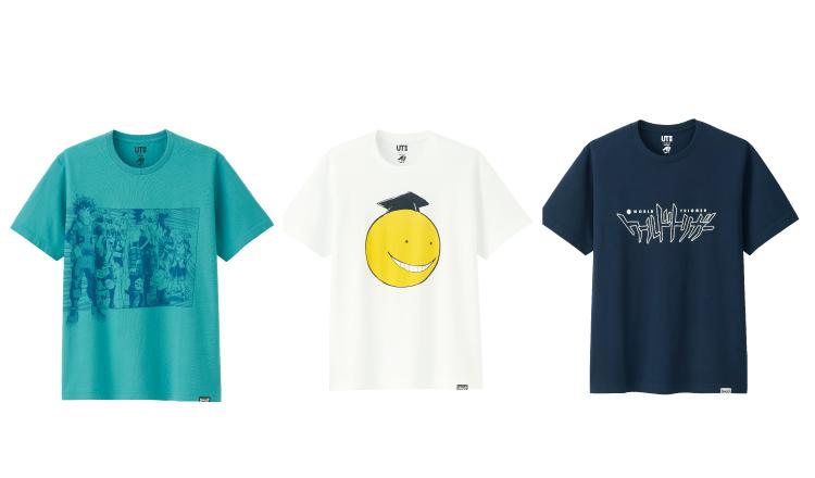 UNIQLO與人氣漫畫角色合作的T恤系列商品「JUMP UT」日本開賣! 漫畫、