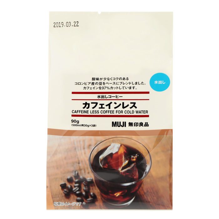 無印良品低咖啡因冷萃咖啡