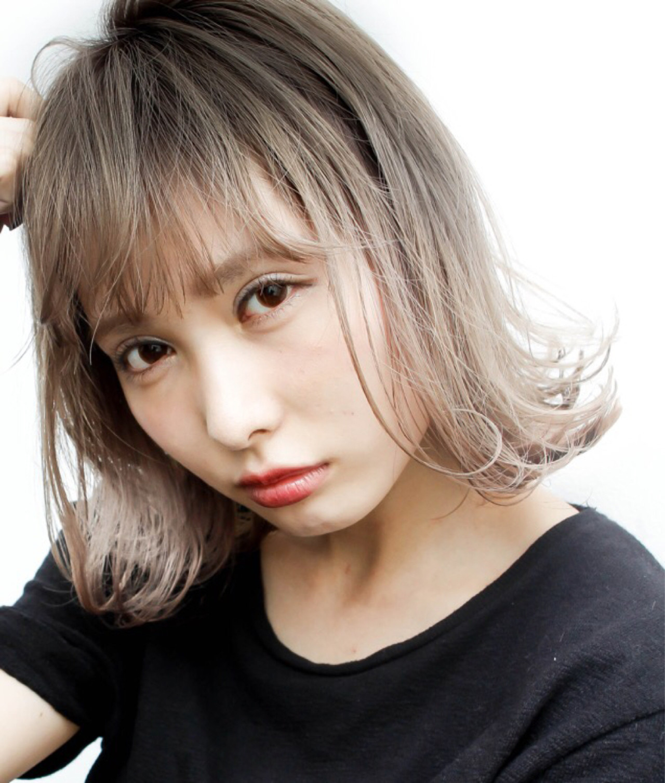 鮑伯×淺色頭髮 width=750