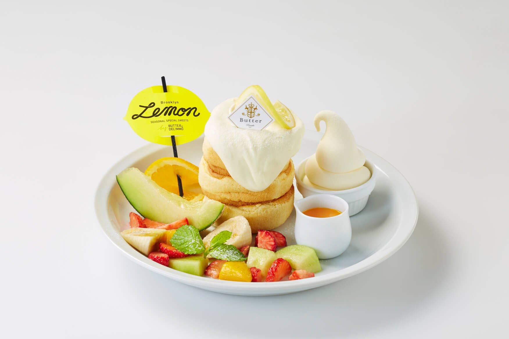 日本鬆餅專賣店「Butter」夏季菜單「Brooklyn Lemon Summer Fair」開始提供 甜點、鬆餅、