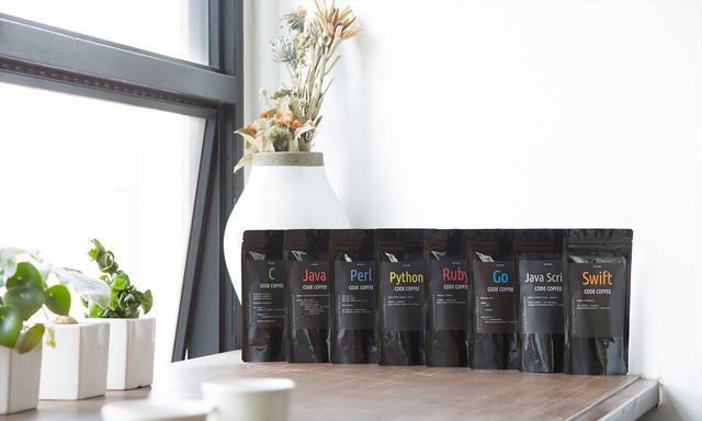 CODE COFFEE程式語言咖啡豆8款