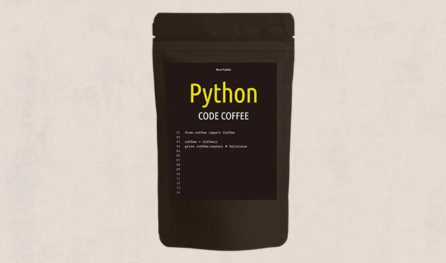 CODE COFFEE程式語言咖啡豆Python語言包裝