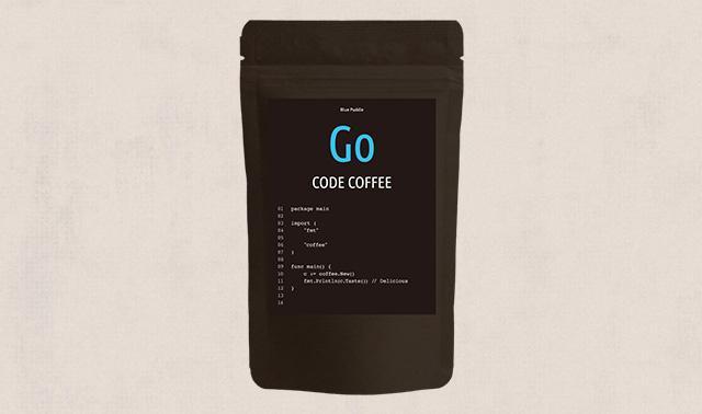 CODE COFFEE程式語言咖啡豆GO語言包裝
