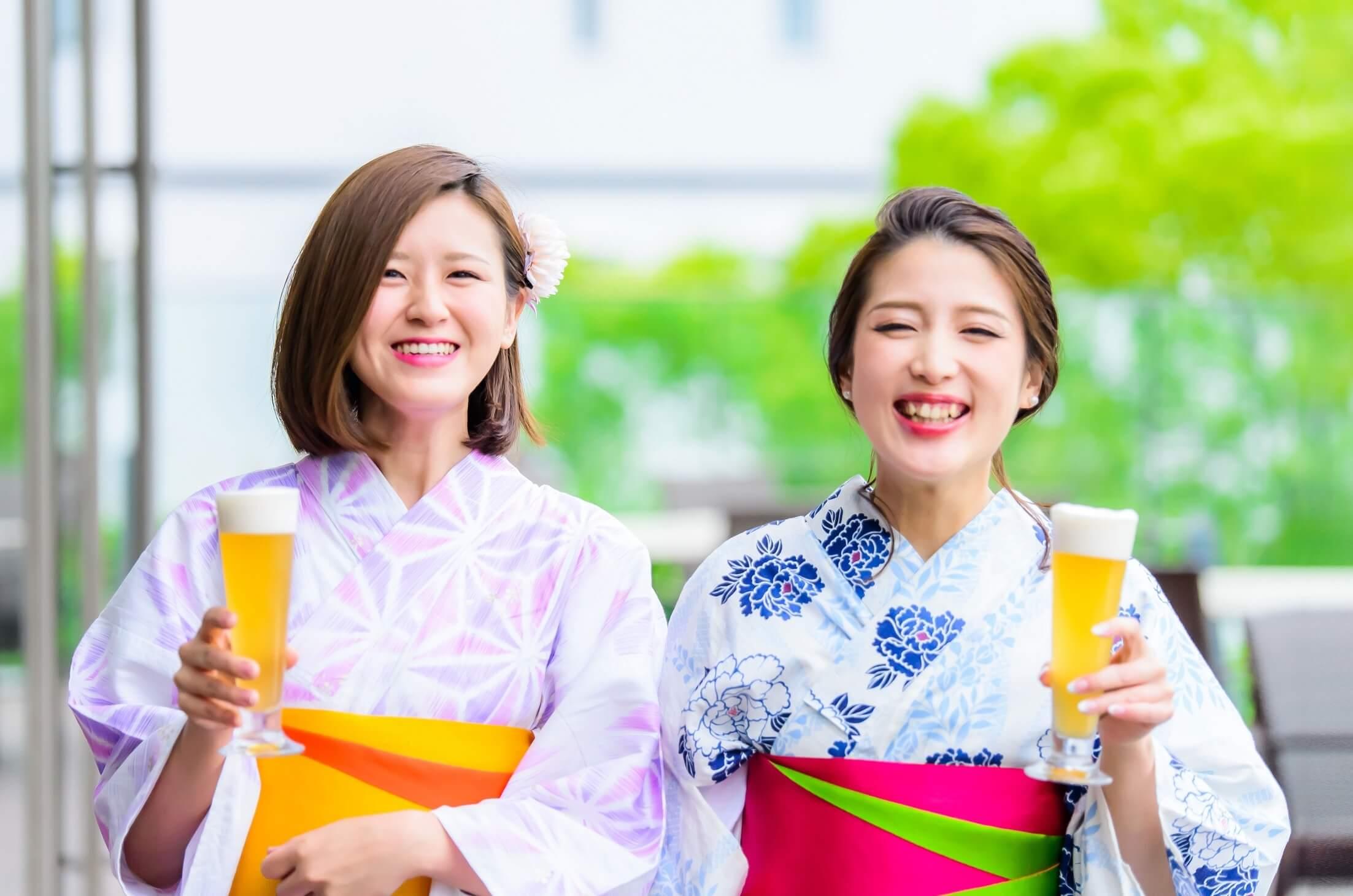可以自己選擇浴衣+露天酒吧!在橫濱海洋塔享受夏天吧 和服、酒吧、