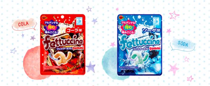 北日本fettuccine軟糖可樂蘇打口味