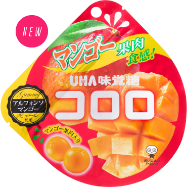 uha味覺糖果實cororo軟糖芒果
