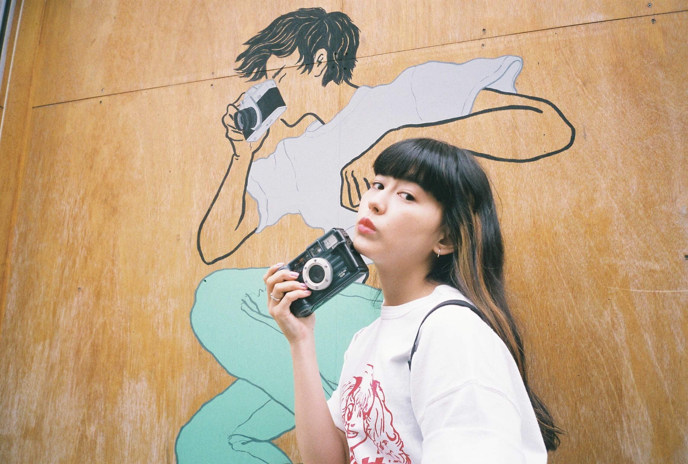 日本文化體驗 #5 底片相機生活啟程篇part 2 第一次用自己的底片相機拍下的照片 拿去照相館顯像囉! 相機、菅沼俞利、
