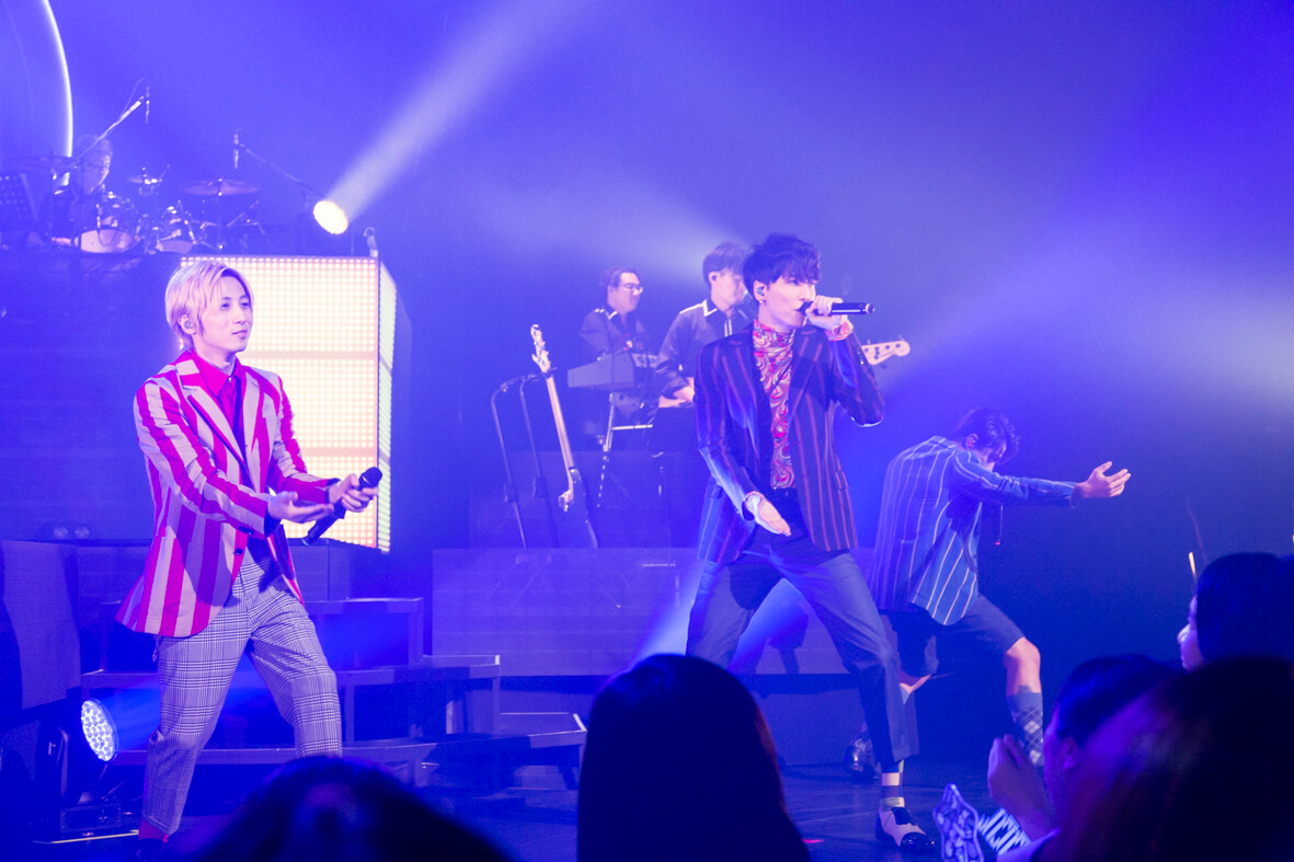 """w-inds日本全國巡演「w-inds. LIVE TOUR 2018 """"100""""」 開幕 w_inds、"""