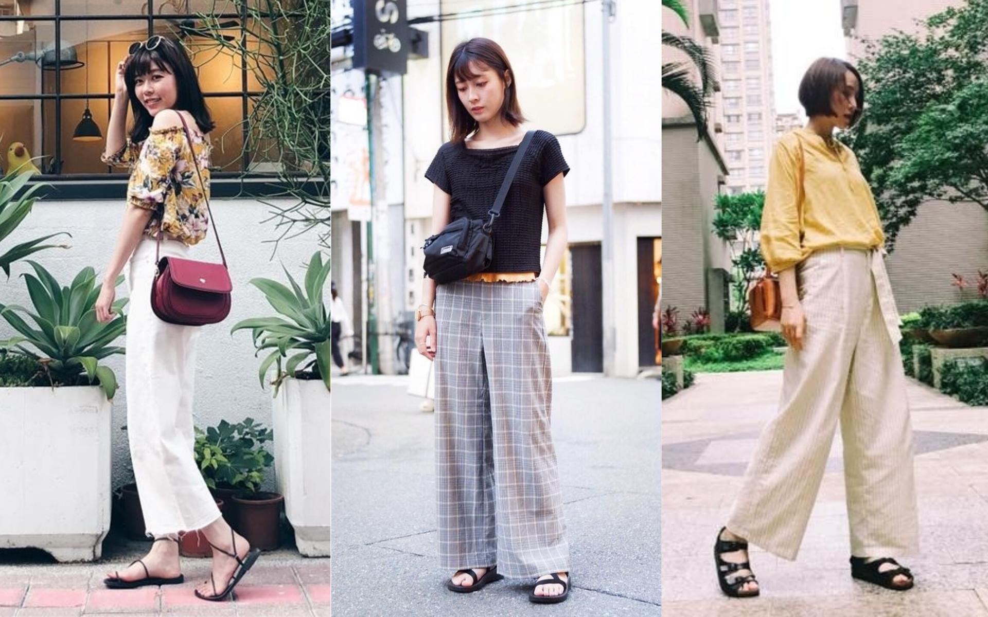 FACY STYLERS|舒適又時髦,四款夏日寬褲穿搭示範