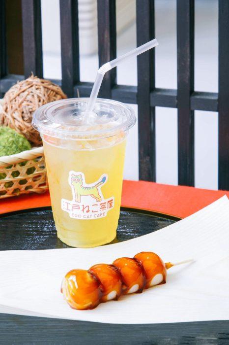 江戸貓咪茶屋輕食