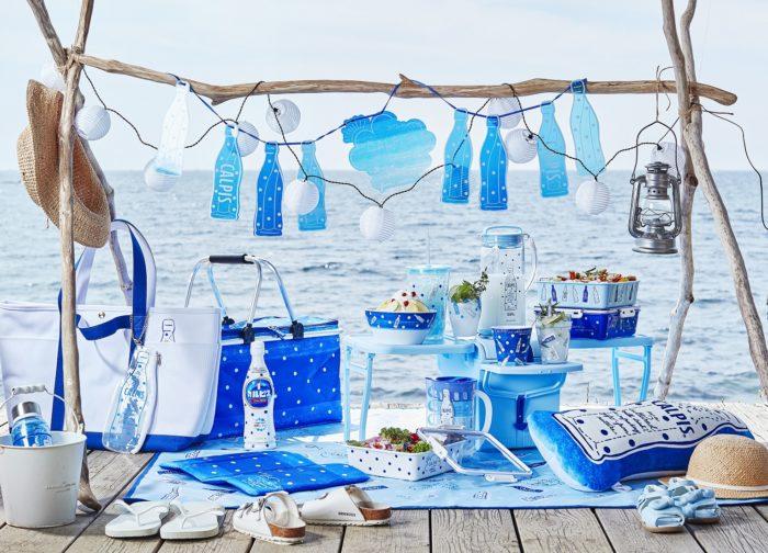 可爾必思 x Afternoon tea 聯名商品 冷水壺、餐墊、吊飾、碗、杯壺組