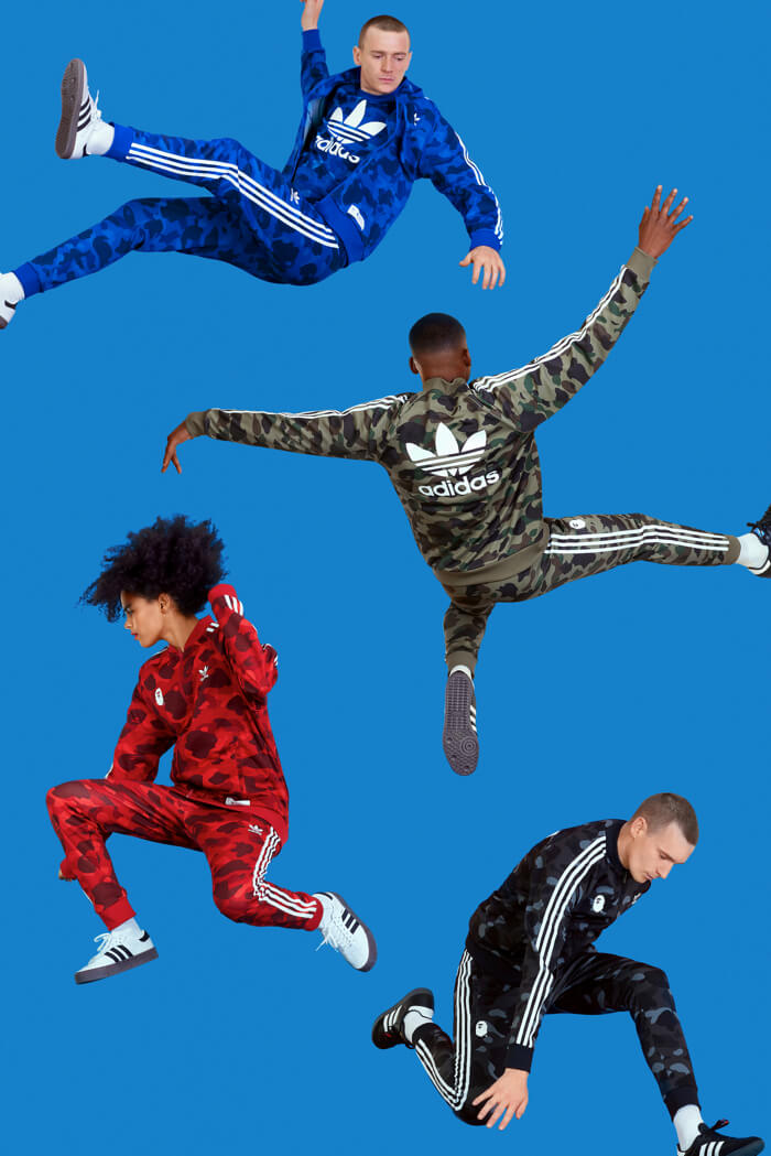 adidas與A BATHING APE®的夢幻聯名系列「adidas Originals by A BATHING APE®」強勢回歸 A BATHING APE®、adidas_、