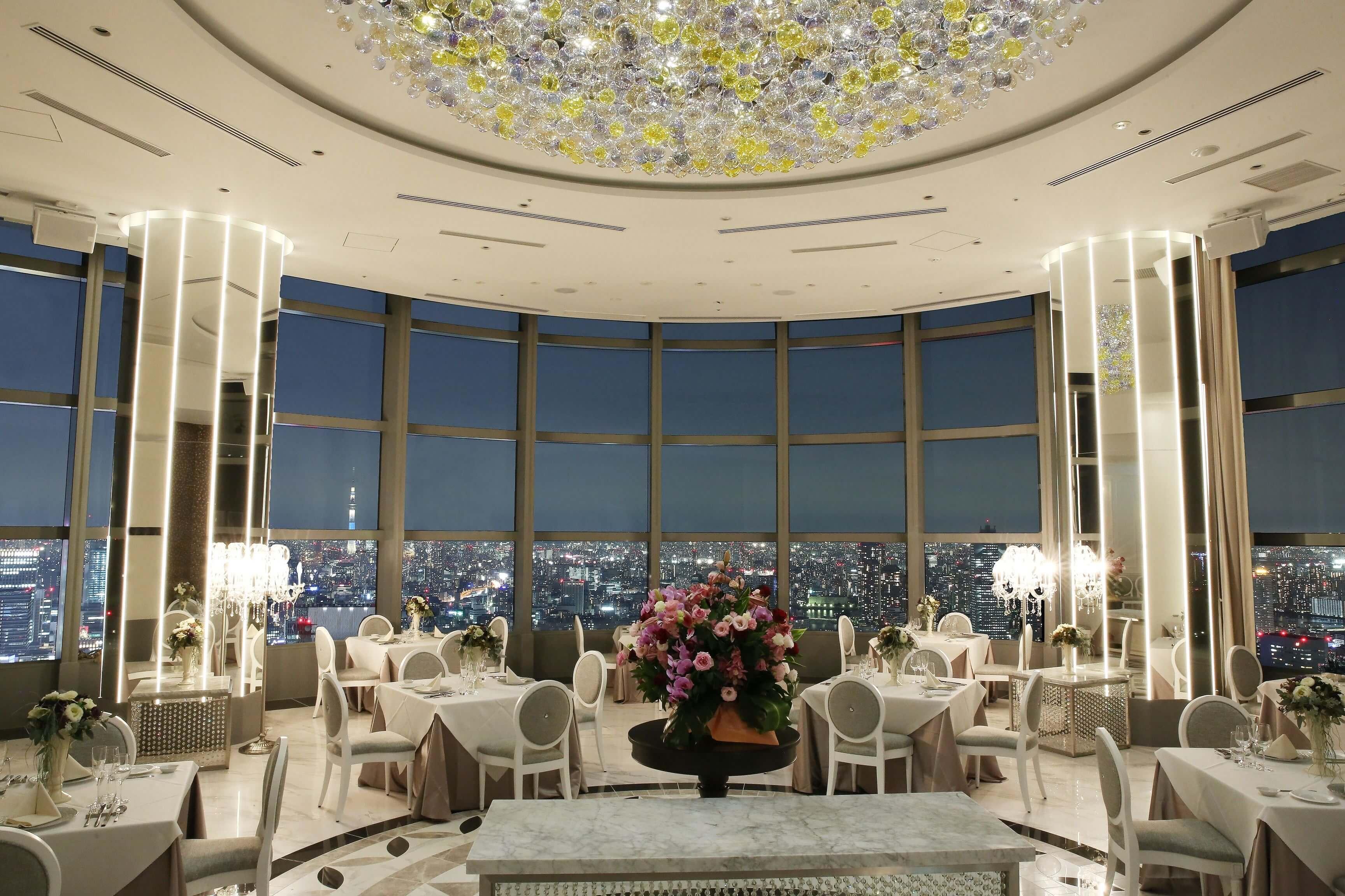 可以享受到最寬270度的景觀餐廳「HORIZON TOKYO」於汐留盛大開幕 汐留_、餐廳、