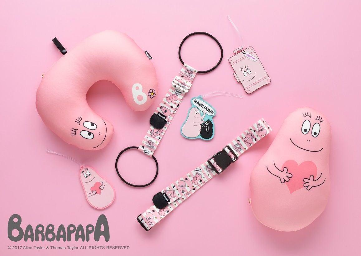 「泡泡先生」推出旅行雜貨登場!於PLAZA・MINiPLA搶先發售 日本旅行、泡泡先生、