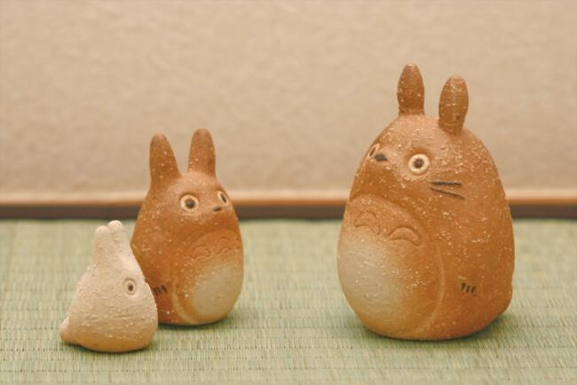 日本傳統工藝「信樂燒」與龍貓的合作!擺飾、筷架等「日式可愛」商品於Village Vanguard登場 吉卜力工作室、日本傳統工藝、龍貓、