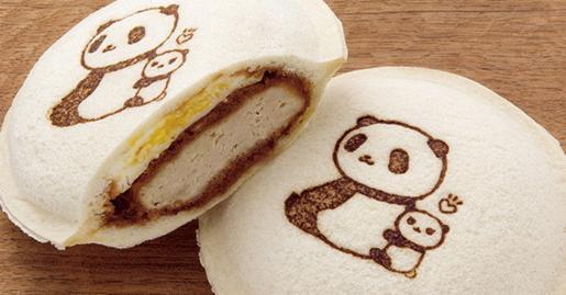 上野限定まい泉口袋三明治熊貓版