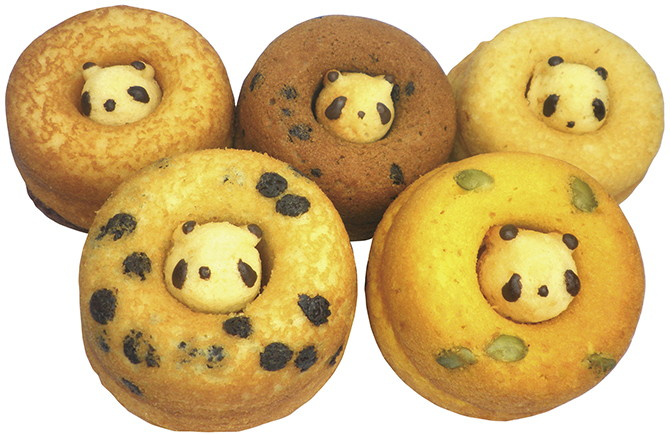 SIRETOKO FACTORY上野限定熊貓蜂蜜甜甜圈