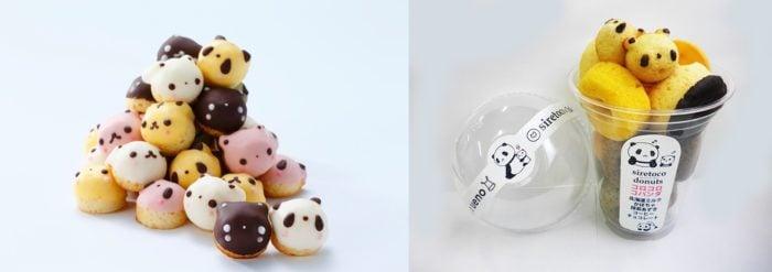 SIRETOKO FACTORY上野限定熊貓小蛋糕