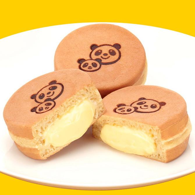 餡舎ひよ子上野限定熊貓奶油餅