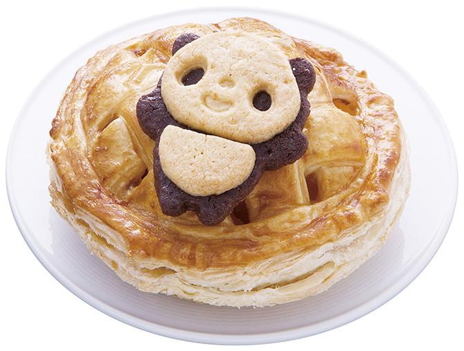 上野限定熊貓蘋果派