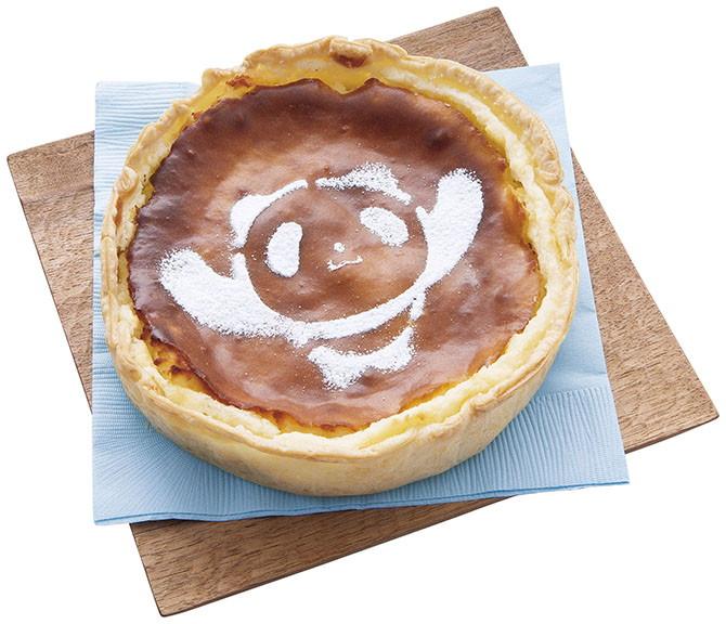 上野限定rapoppo熊貓安納芋奶油起士派