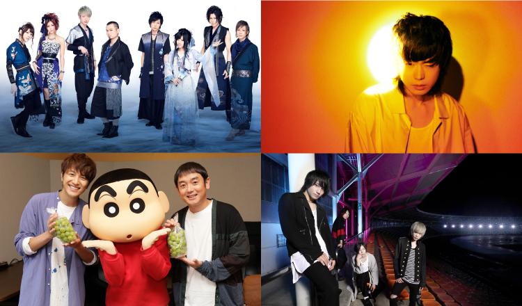 超人氣電視動畫主題曲演唱歌手・團體大統整 歌手、