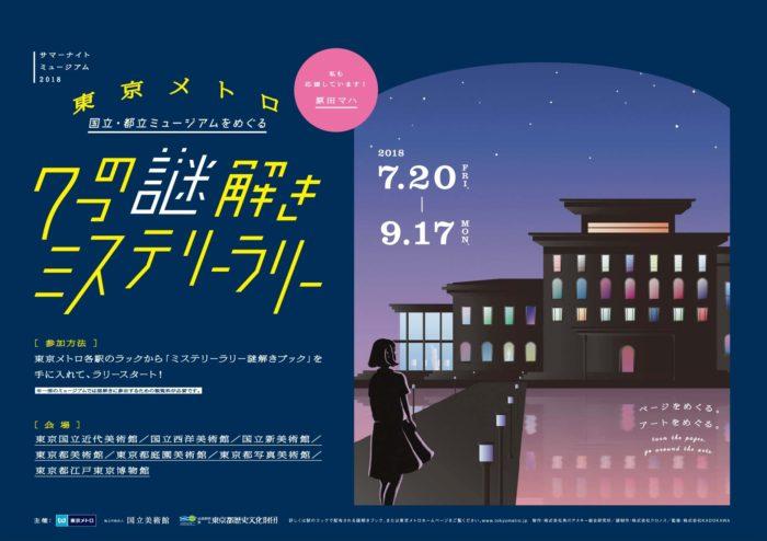 東京博物館解謎活動