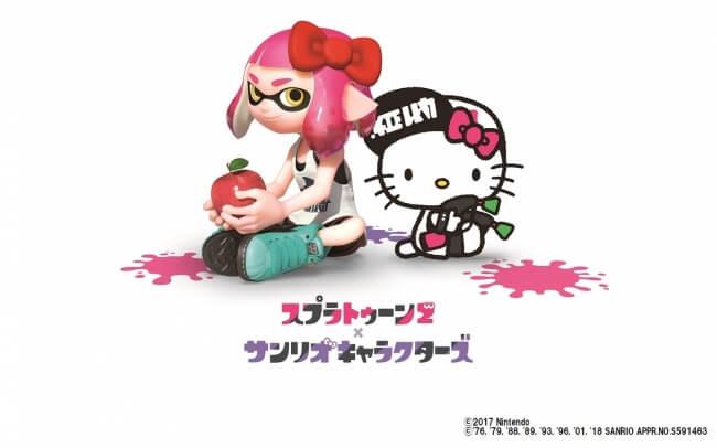 「Splatoon 2 × 三麗鷗角色」活動將於日本KIDDY LAND 11間門市同步舉辦! 三麗鷗、凱蒂猫、