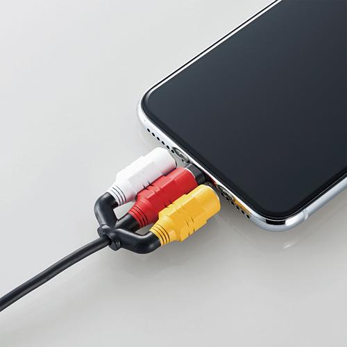 ELECOM RCA手機線保護套
