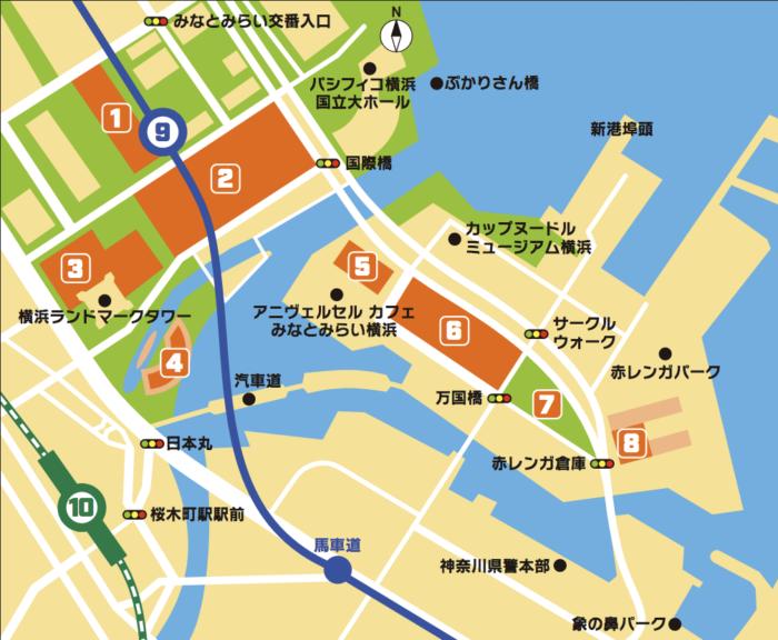 日本橫濱2018皮卡丘大量出現遊行活動寶可夢皮卡丘伊布活動地圖
