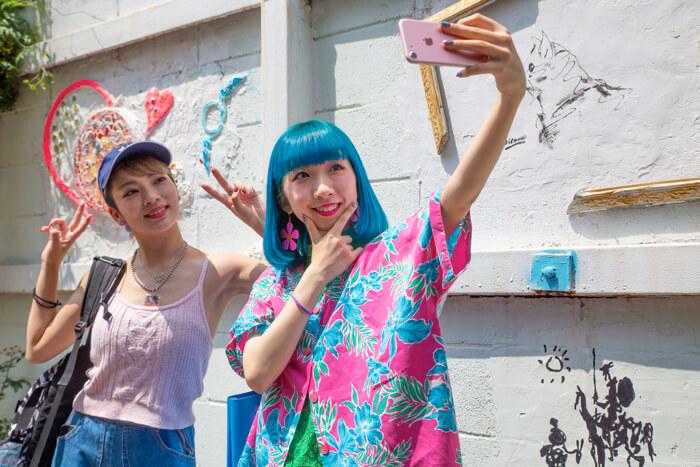 矢部優奈和MIOCHIN帶你逛原宿!今年夏天必去的原宿打卡景點 在原宿、景點、